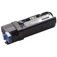Cyaan tonercartridge met hoge capaciteit voor de Dell-laserprinter 2150cn/cdn / 2155cn/cdn (2500 pagina's)