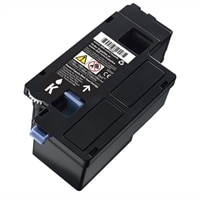 High Capacity Black Toner Cartridge for Dell C17XX, 1250/135X Colour Printer (2000 Pages)