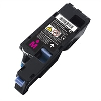 Standard Capacity Magenta Toner Cartridge for Dell C17XX, 1250/135X Colour Printer  (700 Pages)