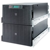 APC Smart-UPS RT - UPS ( rack-uitvoering ) - 220/230/240 Volt wisselstroom V - 12 kW - 15000 VA - Ethernet 10/100, RS-232 - 10 Output Connector(s) - 12U