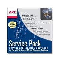 APC Extended Warranty Service Pack - Support technique - support téléphonique - 1 année - 24x7 - pour P/N: SURT6KRMXL3U-TF5, SURTD3KRMXL3U-TF5, SURTD5000RMXLT3U, SURTD6000RMXLP3U