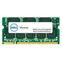 Dell 2 GB gecertificeerde, vervangende geheugenmodule voor specifieke Dell systemen — DDR3 SODIMM 1600MHz LV