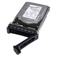 Dell 960 GB Solid State-harde schijf Serial Attached SCSI (SAS) Leesintensief 12Gbps 512e 2.5-inch Hot-pluggable Schijf in 3.5-inch Hybride Carrier - PM1633a