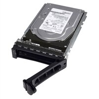 Dell 3.84 TB Solid State-harde schijf Serial Attached SCSI (SAS) Leesintensief 12Gbps 512e 2.5-inch Station in 3.5-inch Hybride Carrier - PM1633a