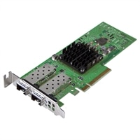 Dell Broadcom 57404 Dual poort25 GbE SFP adapter PCIe - laag profile