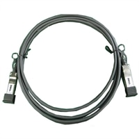 Dell netwerk kabel SFP+ to SFP+ 10GbE koperen Twinaxial Directe verbindingskabel, CusKit - 1m