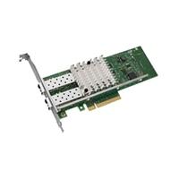 Dell Intel X520 Dual poort 10 Gigabit SFP Serveradapter Ethernet PCIe Low Profile