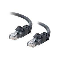 C2G - Cat6 Ethernet (RJ-45) UTP zonder uitsteeksels Kabel - Zwart - 3m