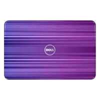 SWITCH by Design Studio - Lokket Horizontal Purple for Dell Inspiron 15R bærbare (5110) PC-er
