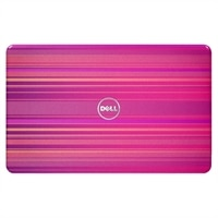 SWITCH by Design Studio - Lokket Horizontal Pink for Dell Inspiron 15R bærbare (5110) PC-er