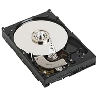 """Dell 2TB 7200RPM SATA 6Gbps 512n 2.5"""" Kablet -harddisk, Cus Kit"""
