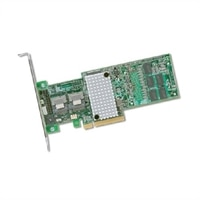 PERC HBA330+ adapter, 12Gb adapter, lav profil