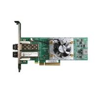 Dell dualporters 16GB Qlogic 2662 Fibre Channel-HBA Host Bus Adapter, full høyde, CusKit