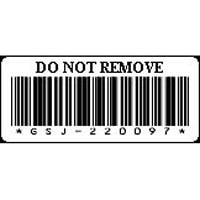Dell LTO-5-tapemedieetiketter – etikettnumre 1 til 200