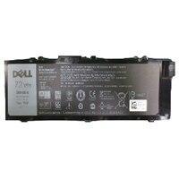 Dell72 Wh 6-cellers primært litiumionbatteri