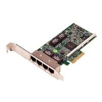 Dell Broadcom 5719 Quad Port 1Gb nettverksgrensesnittkort - Lav profil