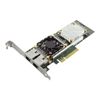 Dell QLogic 57810 Dual Port 10 Gb Base-T Adapter for Nettverk - lav Profil
