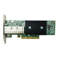Mellanox ConnectX-3, 1 porters, VPI FDR, QSFP+ Adapter, installeres av kunden