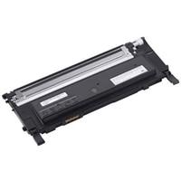 Dell - 1235cn - Svart - tonerkassettene med standard kapasitet - 1500 Siders