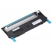 Dell - 1235cn - Cyan - tonerkassettene med standard kapasitet - 1000 Siders