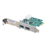 Cables To Go 2-Port USB 3.0 SuperSpeed PCI-E Card - USB-adapter - PCI Express -