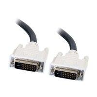 C2G - DVI-kabel - dobbeltlenke - DVI-D (hann) - DVI-D (hann) - 2 m