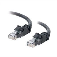 C2G Cat6 550MHz Snagless Patch Cable - koblingskabel - 50 cm - svart