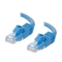 C2G Cat6 550MHz Snagless Patch Cable - koblingskabel - 1 m - blå