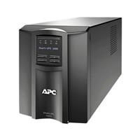 APC Smart-UPS 1000 LCD - UPS - AC 230 V - 700-watt - 1000 VA - RS-232, USB - 8 Utgangskobling(er) - svart