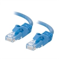 C2G Cat6 550MHz Snagless Patch Cable - koblingskabel - 10 m - blå