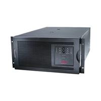 APC Smart-UPS - UPS - AC 230 V - 4 kW - 5000 VA - Ethernet 10/100, RS-232 - 10 Utgangskobling(er) - 5U - svart