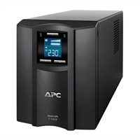 APC Smart-UPS C 1000VA LCD - UPS - AC 230 V - 600-watt - 1000 VA - USB - utgangskontakter: 8 - svart