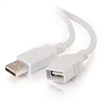 C2G - USB skjøteledning - 4-pin USB type A (M) - 4-pin USB type A (F) - 2 m