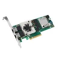 Serwerowa, podwójny 10 Gb karta sieciowa Ethernet PCIe firmy Dell Intel X540, o pełnej wysokości