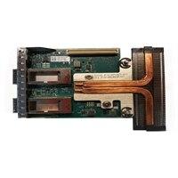 Serwerowa, podwójny 40 GbE QSFP+ rNDC Adapter Ethernet PCIe firmy Intel XL710 -  pełnej wysokości