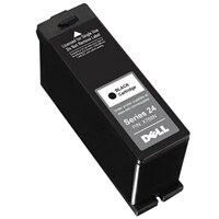 Dell Series 24 Single Use Black Cartridge - High Capacity - czarny - oryginalny - pojemnik na tusz