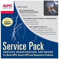APC Extended Warranty Service Pack - wsparcie techniczne - 1 rok