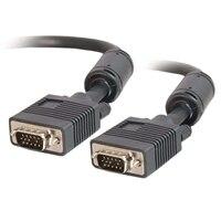 C2G - Kabel VGA (Męski)/(Męski) - Czarny - 1m