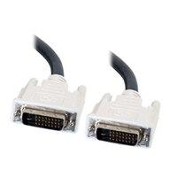 C2G - Kabel DVI-D Dual Link (Męski)/(Męski) - Czarny - 1m