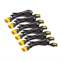 APC - Kabel zasilający - IEC 60320 C13 do IEC 60320 C14 - 10 A - 61 cm - czarny - Cały świat - dla P/N: SMX3000RMHV2UNC