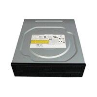 Unidade de DVD-ROM Serial ATA 16X de meia altura para servidor Dell PowerEdge T100/ T105/ T300/ T410/ T605/ T610/ T710
