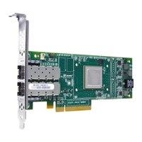 Dell QLogic 2662 - Adaptador de barramento do host - PCIe de perfil baixo - 2 Fibre Channel de 16 Gbps