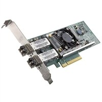 Adaptador de rede convergente SFP+ Dell QLogic 57810s de duas portas, perfil baixo e 10 GbE - Y40PH