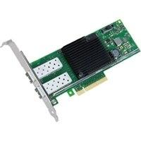 Placa de interface de rede PCIe Ethernet com adaptador do servidor de 10 Gigabit e porta dupla da Dell Intel X710