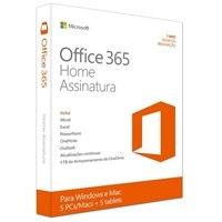 Microsoft Office 365 Home - licença de assinatura ( 1 ano )