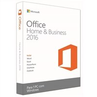 Microsoft Office Home and Business 2016 - Licença - 1 PC - download - ESD - Win - All Languages - América Latina