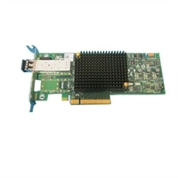 Adaptador de bus anfitrião de canal de fibra Emulex LPe31000-M6-D 1 portas 16 GB - perfil baixo