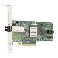 Dell Adaptador de bus anfitrião de canal de 1 portas 8Gb fibra Emulex LPE 12000  - altura completa