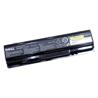 Battery : primárias 6-cell 48W/HR LI-ION para sistema Dell seleccionado