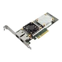 Dell QLogic 57810 placa de interface de rede Ethernet PCIe de Dual portas 10 Gigabit Base-T para placa de rede de servidor